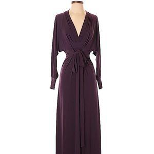 NWOT Moda International dramatic maxi dress